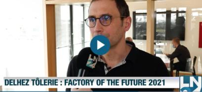 Delhez Tôlerie : l'usine du futur en partenariat avec Factory Systems